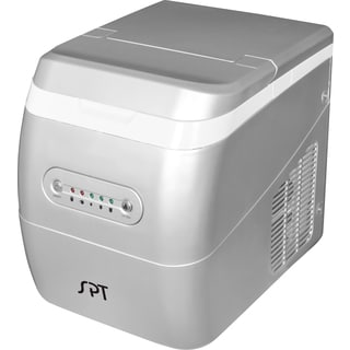 Silver Portable Ice Maker