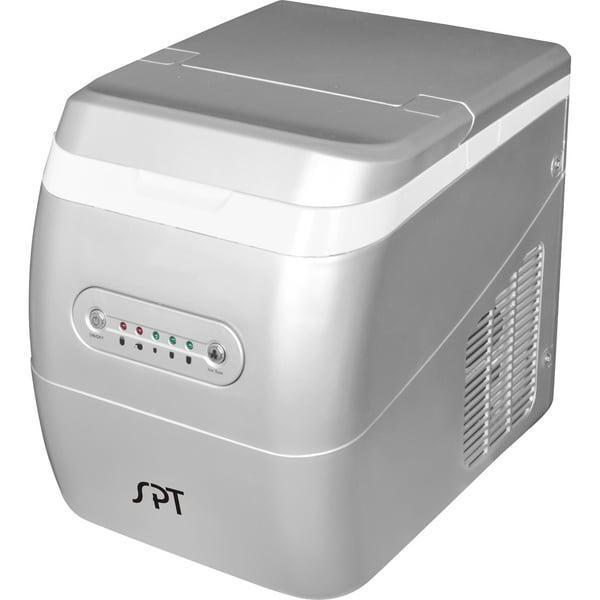 SPT Silver Portable Ice Maker