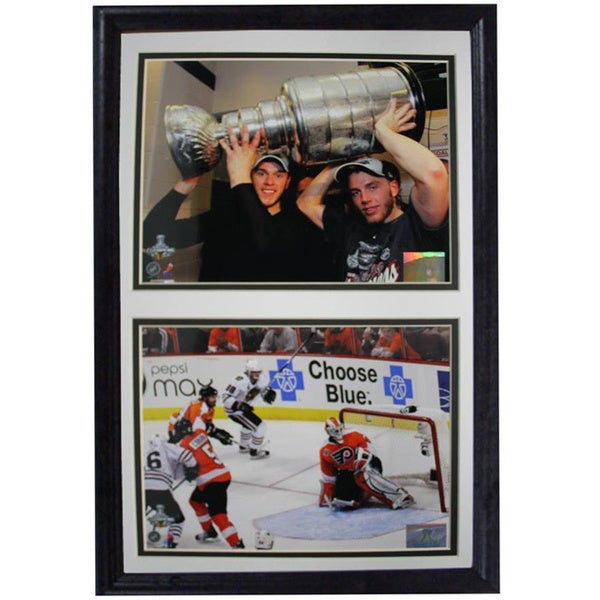 Chicago Blackhawks 2010 Stanley Cup Double Photo Frame