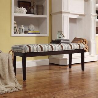 INSPIRE Q Chelsea Vertical Wavy Stripe Bench