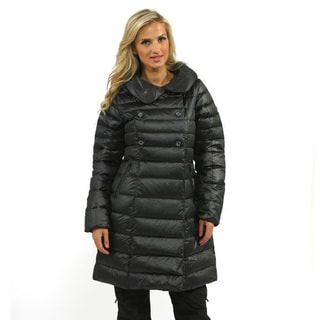 The North Face TNF Black Women's Paulette Down Peacoat Jacket