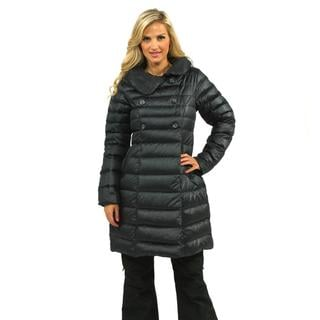 The North Face Women's Navy Blue Paulette Down Peacoat Jacket