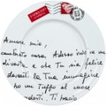 Konitz Coffee Bar Amore Mio 4-piece Plates Set