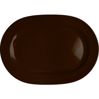 Waechtersbach Fun Factory Chocolate Oval Platters (Set of 2)