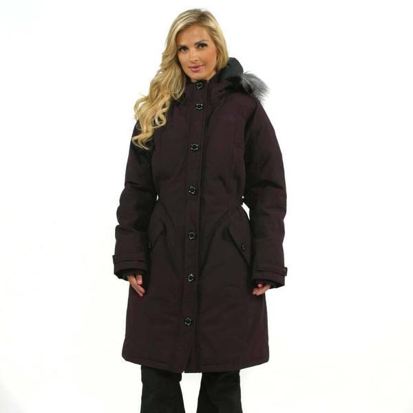 The North Face Women's Baroque Purple Tremaya Parka Jacket