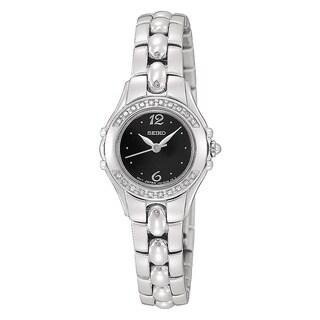 Seiko Women's Quartz Steel Diamond Dress Watch