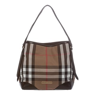 Burberry '3831797' Small Bridle House Check Tote