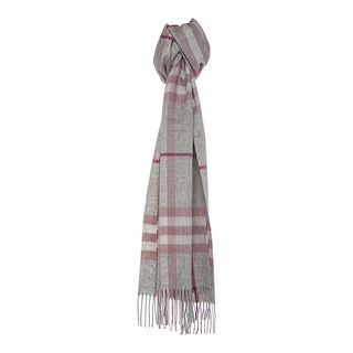 Burberry '3826554' Giant Check Cashmere Scarf