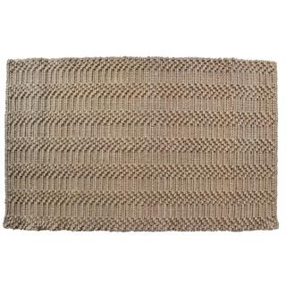'Natural Waves' Jute Indoor Door Mat