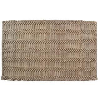 Natural Waves Jute Indoor Door Mat