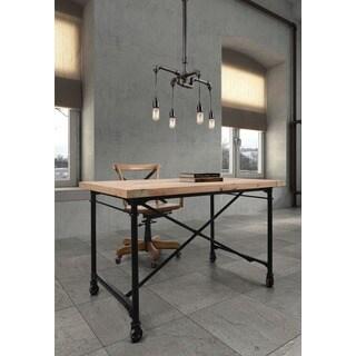 Sofiite 4-light Antique Grey Ceiling Lamp