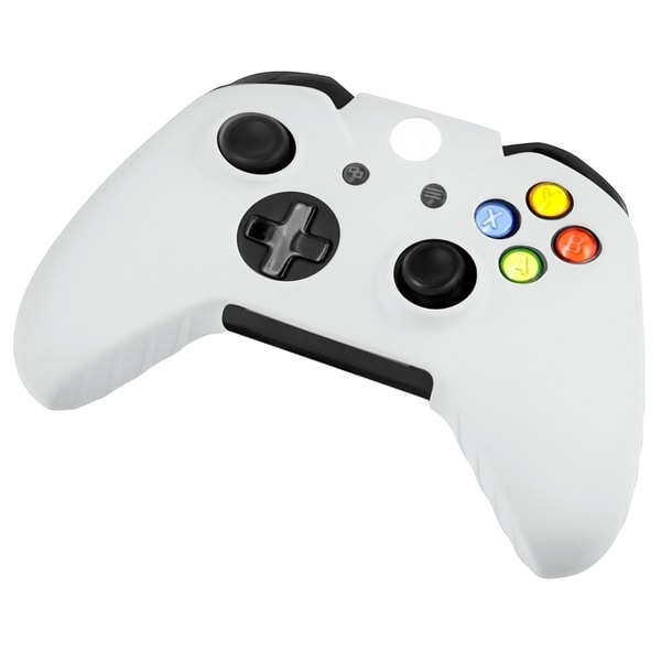 INSTEN White Soft Silicone Skin Phone Case Cover for Microsoft Xbox One Controller