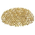 BasAcc 400-piece 3mm Yellow DIY Cell Phone Bling