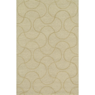Hand Tufted Benson Cream Rug (3'6 x 5'6)