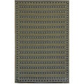Thai Indoor/ Outdoor Umber Floor Mat (4 x 6)
