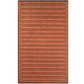 Thai Indoor/ Outdoor Rust Floor Mat (4 x 6)