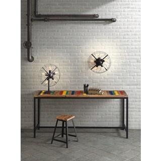 Simplotite 5-light Rust/ Black Table Lamp