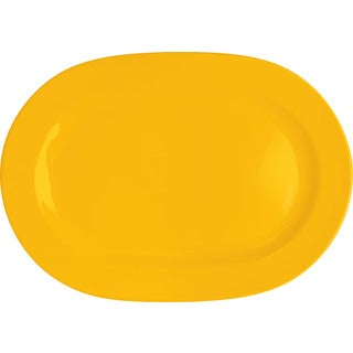 Waechtersbach Fun Factory Buttercup Oval Platters (Set of 2)