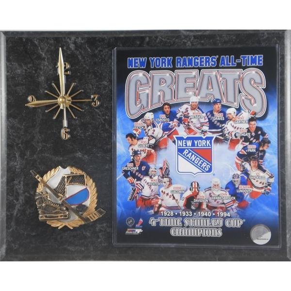 All Time Greats New York Rangers Clock