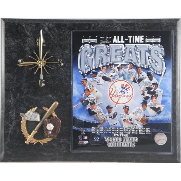 All Time Greats New York Yankees Clock
