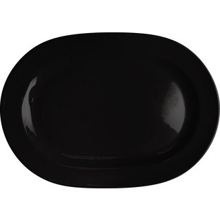 Waechtersbach Fun Factory Black Oval Platter (Set of 2)