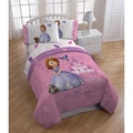 Disney Sofia the First Princess 'Sweet Princess' Twin-size 5-piece Bed in a Bag with Pillow Buddy