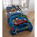 Disney Mickey 'Transportation' Twin-size 5-piece Bed in a Bag with Pillow Buddy