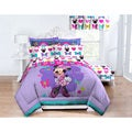Disney Minnie 'Springtime Bows' Twin-size 5-piece Bed in a Bag with Pillow Buddy