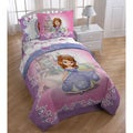 Disney Sofia the First Princess 'Introducing Sofia' Twin-size 5-piece Bed in a Bag with Pillow Buddy