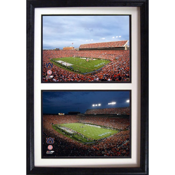 12x18 Auburn University Football Stadium Custom Double Frame