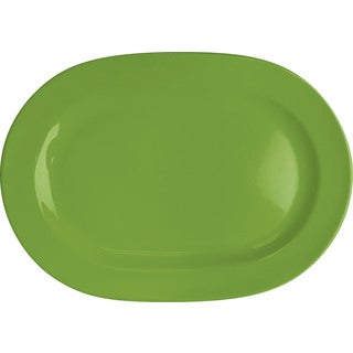 Waechtersbach Fun Factory Green Apple Oval Platters (Set of 2)