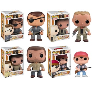 Walking Dead: Pop! Vinyl Set 2