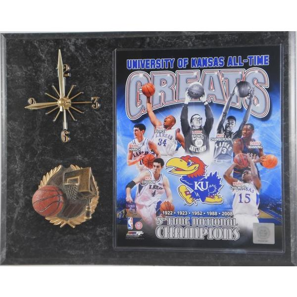 University of Kansas All Time Greats Clock