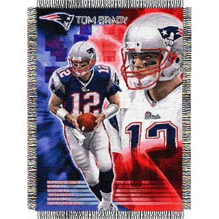 NFL Player Woven Tapestry Throw (Multi Team Options)