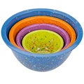 Zak! Confetti 4-piece Nested Bowl Set