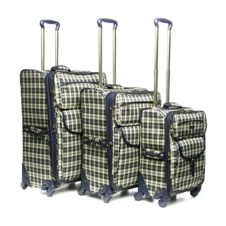 London Fog Regent 360-degree 3-piece Luggage Set