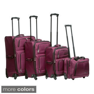 Leisure Lightweight Collection 4-piece Luggage Set