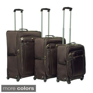 London Fog Newbury Lites 360-degree 3-piece Luggage Set