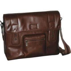 Men's Dopp Leather Messenger Brown