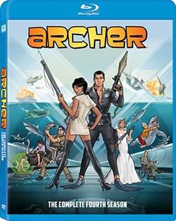 Archer: Season 4 (Blu-ray Disc)