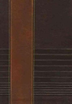 Holy Bible: The New King James Version Study Bible, Rustic Brown/Dark Mahogany Leathersoft (Paperback)