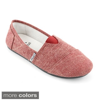 Corkys Women's 'Sues' Burlap Casual Shoes