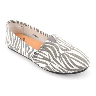 Corkys Women's Print Slip On Sues
