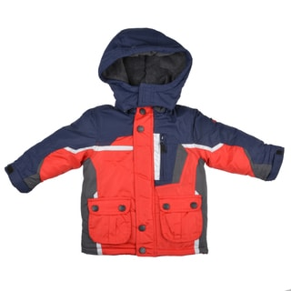 Osh Kosh Boy's Fleece Lined Hooded Jacket