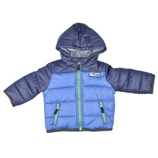 Carter's Boy's Fleece Lined Hooded Bubble Jacket