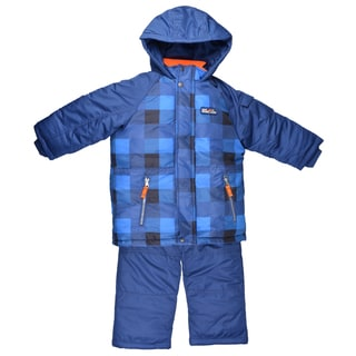 Carter's Boy's Fleece Lined Hooded 2-piece Snowsuit