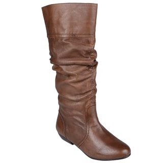 steve madden s cindi leather slouch boots