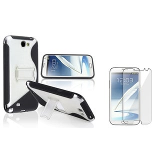 BasAcc TPU Case/ Anti-glare Protector for Samsung Galaxy Note II N7100