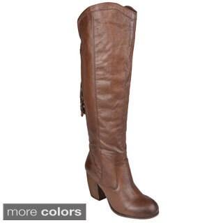 Steve Madden Women's 'Turnerr' Leather Tall Boots