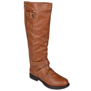 Madden Girl by Steve Madden Women's 'Zuzu' Back Zipper Riding Boots